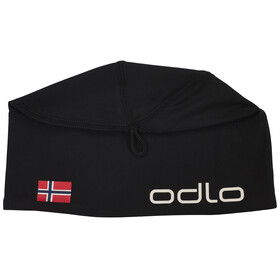 Odlo Polyknit Fan Hat black/Norwegian Flag